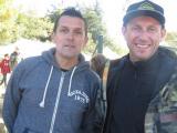 Christophe Clément et Christophe Berthelon, président et vice-président du BMX Club d'Entrechaux