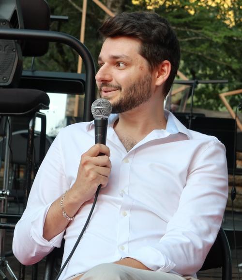 Fabien Barcelo, le compositeur