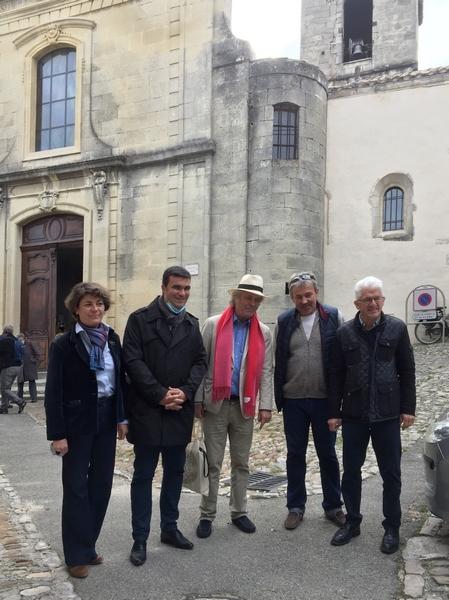 Sophie Rigaut, Jean-Francois Perhilou, Franz Olivier Giesbert, Jean Alain Mazas et Patrick Neyrat.
