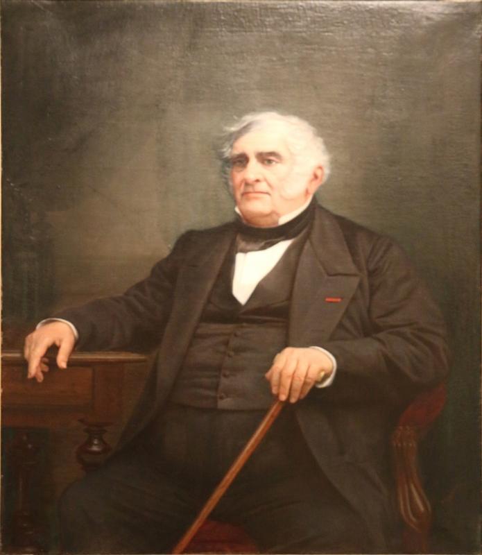 Portrait de Pierre Grivolas par Charles Thomas (1787-1871),