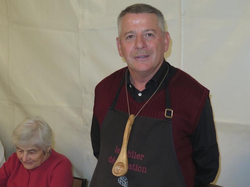 Sylvain Tortel, vainqueur 2018 à Buisson