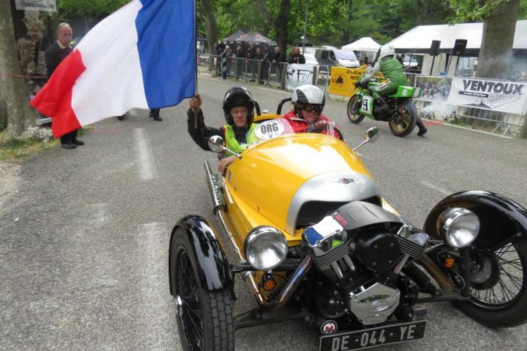 Départ de la Ventoux Classic