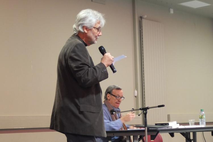 Antoine Abou a présenté Jean-Claude Besson-Girard