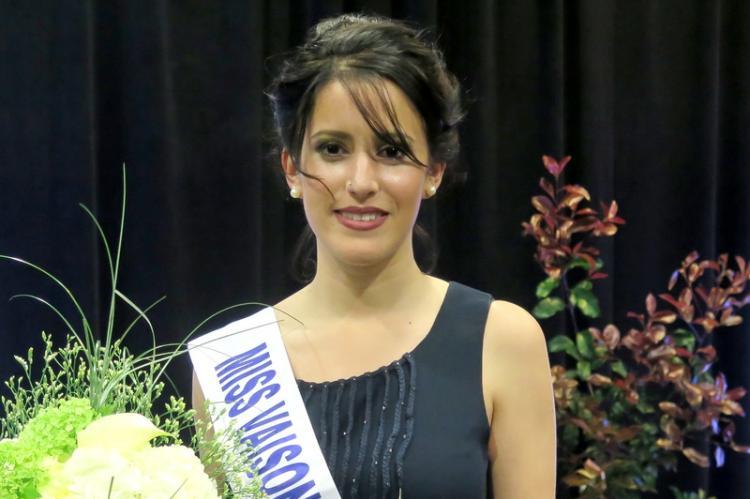 Sarah Chorda, Miss Vaison 2017