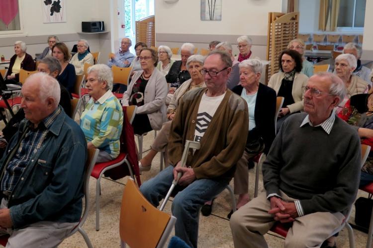 Une trentaine ed personnes ont assisté à la conférence