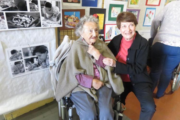 Edith Marchisio et Annie Gourment