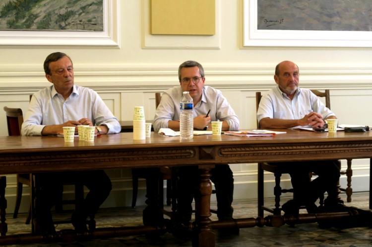 Alain Duffaut, Jean-Baptiste Blanc et Dominique Bodon
