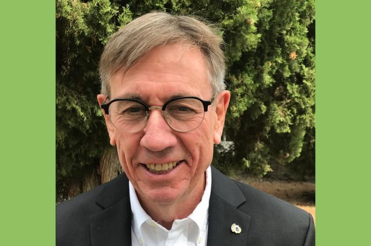 Jacques Cordier, président 2021/2022 du Lions club de Vaison