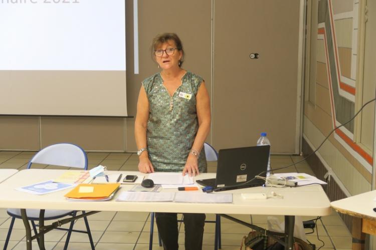 Catherine Serreau-Lamotte, présidente