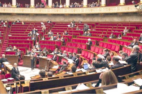Séance à l'Assemblée Nationale (débat sur le mariage pour tous)