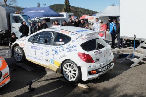 La peugeot 207 S2000 de Pellerey-Boyer, vainqueurs de l'édition 2013