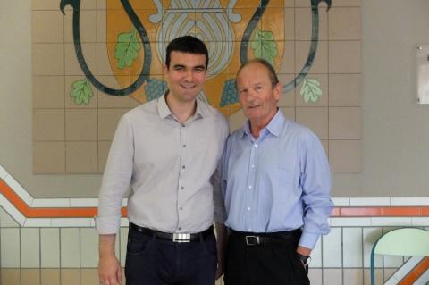 Jean-François Périlhou et Jean-Louis Verdier