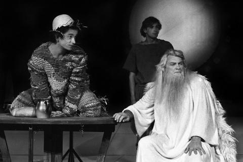 Jean Marais dans Le roi Lear - 1978