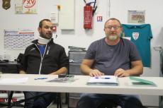 David Sillani et Benoit Sauvage