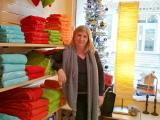 """Stéphanie Chatillon, Présidente de l'Association de commerçants """"les Voies Romaines"""""""