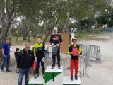 Quentin Jean à droite dur le podium