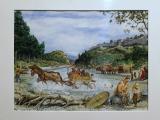 La traversée de l'Ouvèze avant l'existence du pont romain, par Jean Marcellin
